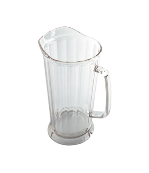 "Camwear® Pitcher, 64 oz., 9-1/4""H x 7-5/16""D, polycarbonate, clear, chip & break"
