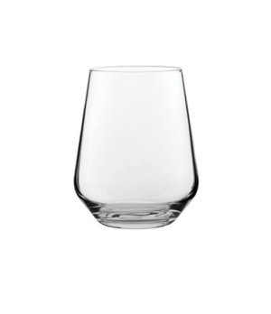 Wine Glass, 15.5 oz (458 mL), stemless, translucent, glass, dishwasher safe to 5
