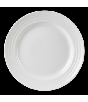 "Plate, round, 6-1/2"" dia., Performance, Arondo, white (minimum = case quantity)"