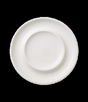 "Centerpiece Bowl, 14-1/2"" dia., round, white, premium porcelain, Artesano"