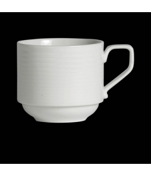 "Coffee Cup, 6-3/4 oz., 4-1/8""W x 2-3/4""H, stackable, porcelain, Rene Ozorio Virt"
