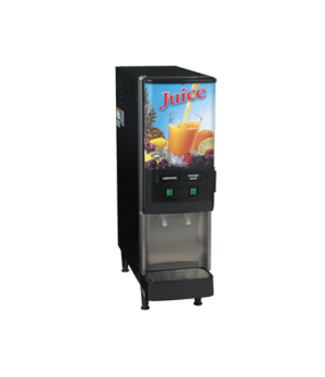 37900.0001 JDF-2S Silver Series® 2-Flavor Cold Beverage System, (4) 5 oz. drinks