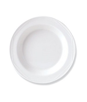 "Soup Plate, 12.9 oz., 8-1/2"" dia., round, vitrified china, Performance, Monte Ca"