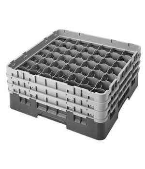 """Camrack® Glass Rack, with 3 extenders, full size, 49 compartments, 2-7/16"""" max."""