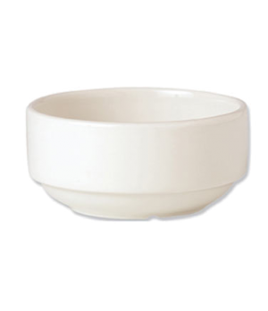 Soup Cup, 10 oz., stackable, unhandled, vitrified china, Performance, Plain Ivor