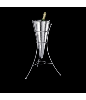 "Wine Cooler & Stand Set, double wall, 9"" x 27"", 18/10 stainless steel, WNK Acces"