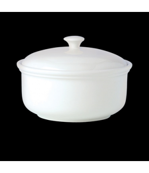 Casserole, 3-1/2 pt. (2 liter), vitrified china, Performance, Simplicity Cookwar