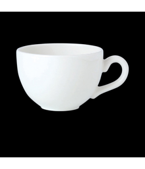 Cup, 8 oz., low, vitrified china, Performance, Simplicity, Carnival Onyx (UK sto