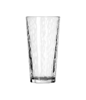 "Casual Cooler Glass, 20 oz., hammered design, DuraTuff® (H 6-3/4""; T 3-5/8""; B 2"