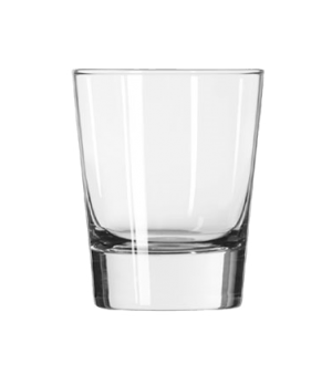 "Double Old Fashioned Glass, 13-1/4 oz., Safedge® Rim guarantee, GEO, (H 4-1/2"";"