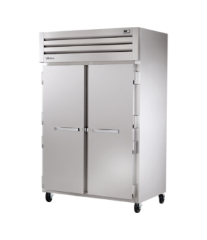 SPEC SERIES® Freezer, Reach-in, -10°F, two-section, stainless steel front, alumi