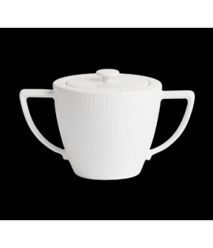 Sugar Bowl, 9 oz., with lid, porcelain, Sonata, Rene Ozorio (minimum = case quan