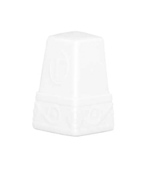 "Pepper Shaker, 2-1/8"", premium porcelain, Millenia Bianca (DE Stock)"