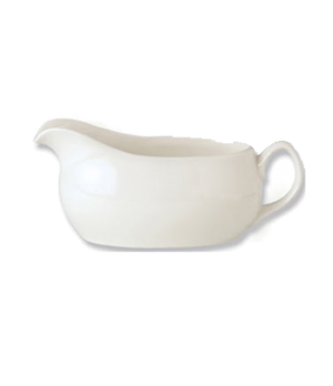 Mint Boat Atlanta, 4-1/2 oz., vitrified china, Performance, Plain Ivory (non-sto