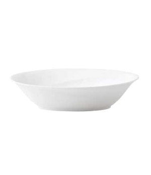 "Solar Vegetable Dish, 10"" dia., round, dishwasher safe, bone china, white"