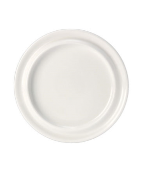 "Slimline Plate, 10-1/4"", round, vitrified china, Performance, Rio Yellow (priced"