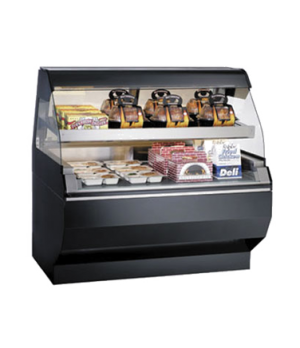 """Halo Heat® Heated Two-Tier Display Case with European Style Base, 48"""" L, self-se"""