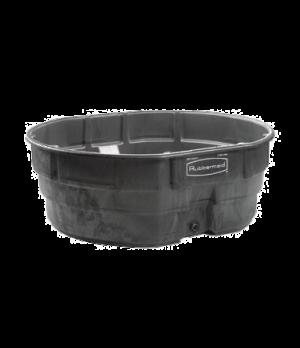 Stock Tank, 300 gallon capacity, structural foam, black