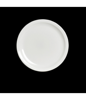 "Dinner Plate, 9-1/4"" dia., round, narrow rim, Anfora, American Basics (USA stock"