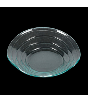 "Bowl, 20 oz., 10-1/4"", round, glass, Creations, Ripples (priced per case, packed"