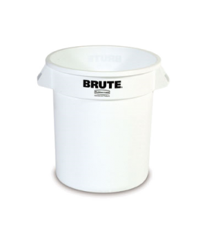 "ProSave® BRUTE® Container, without lid, 10 gallon, round, 5-5/8""D x 17-1/7""H, re"