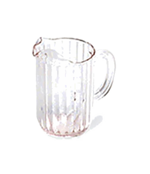 Bouncer® Pitcher, 32 oz., drip-proof spout, light weight, dishwasher safe, polyc