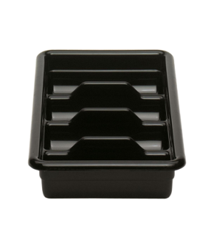 "Cambox® Cutlery Box, 4 compartment, 11-3/8""L x 20-7/16""W x 3-3/4""H, hi-impact pl"