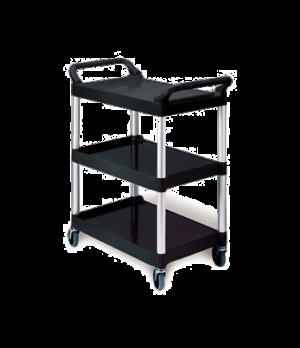 "Utility Cart, 3 shelves, 33-5/8""W x 18-5/8""D x 37-3/4""H, 200 lb. weight capacity"