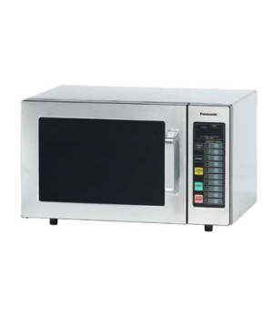 Commercial Microwave Oven, 1000 Watts, 6 power levels, 10 programmable memory pa