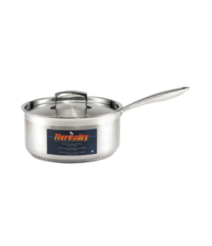 "Thermalloy® Sauce Pan, 3-1/2 qt., 7-3/4"" x 4"", without cover, stay cool riveted"
