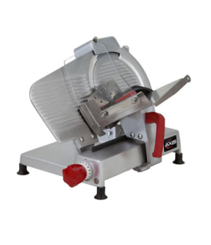 """Axis Food Slicer, manual, gravity feed, 10"""" diameter blade, 300 rpm, 0 to 9/16"""""""
