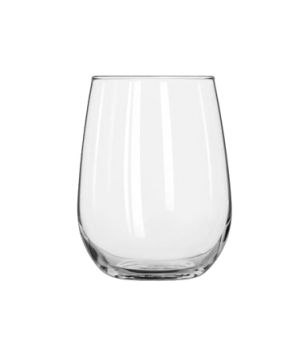 "White Wine Glass, 17 oz., stemless, (H 4-1/2""; T 2-7/8""; B 2""; D 3-1/2"")"