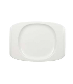 "Plate, 10-5/8"" x 7-5/8"", premium porcelain, Urban Nature"
