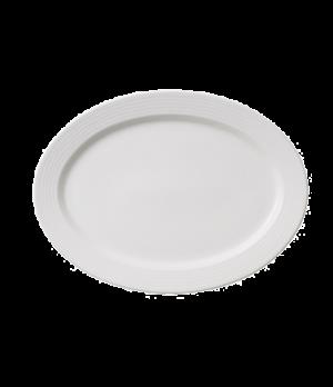 "Plate, 12-1/2"", oval,  premium porcelain, Sedona Fuction"