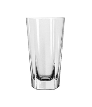 "Beverage Glass, 10 oz., DuraTuff®, INVERNESS, (H 5-3/8""; T 3""; B 2-1/8""; D 3"")"