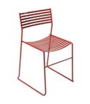 Aero Stacking Side Chair, outdoor/indoor