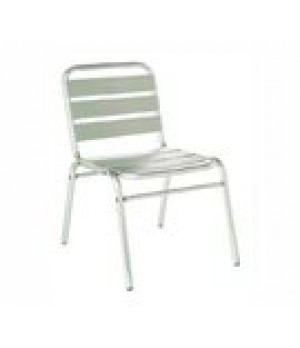 Flora Stacking Side Chair, outdoor/indoo