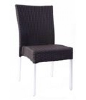 Bella Stacking Side Chair, outdoor/indoo