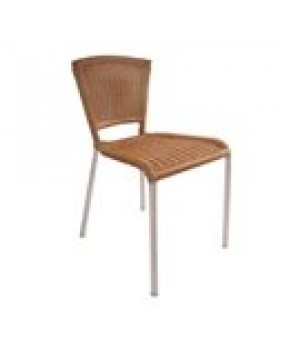 Laura Stacking Side Chair, outdoor/indoo