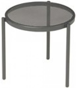 "Disco Stacking Low Table, round, 16"" dia"