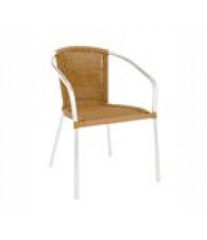 Laura Stacking Armchair, outdoor/indoor,