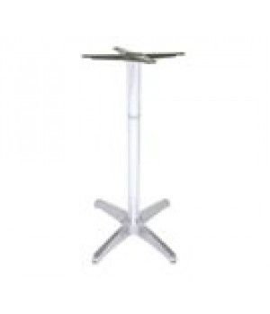 Max Table Base, bar height, 4-cross base