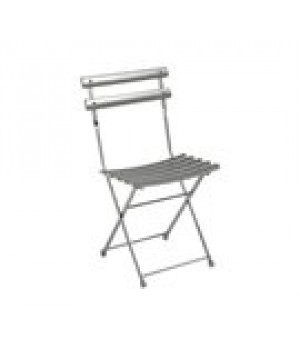 Arc En Ciel Folding Side Chair, outdoor/