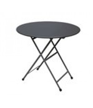 "Arc En Ciel Folding Table, round, 32"" di"