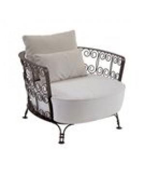 Shalimar Lounge Chair, indoor/outdoor, w