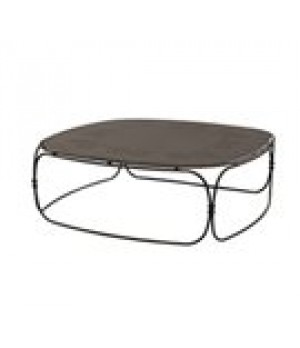 "Shalimar Low Table, square, 38"" x 38"" x"