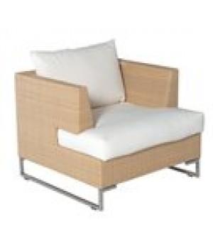 Luxor Lounge Armchair, outdoor, syntheti