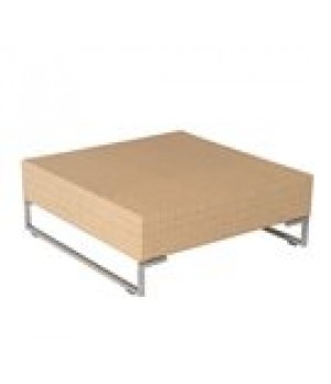 """Luxor Coffee/Side Table, square, 34"""" x 3"""