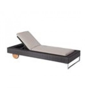 Luxor Chaise, adjustable, outdoor, synth