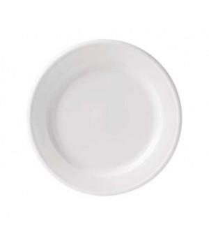 """6"""" loop plate, rimmed"""